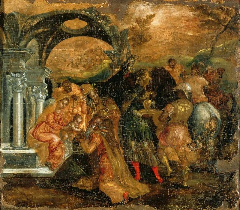 The Adoration of the Magi. El Greco