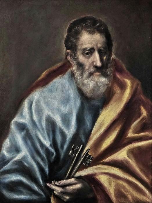 St. Peter. El Greco
