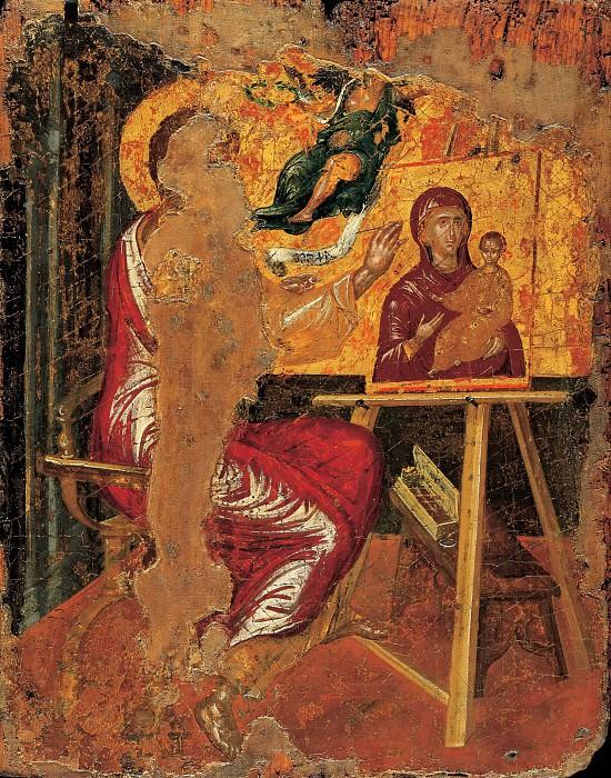 St Luke Painting the Virgin. El Greco