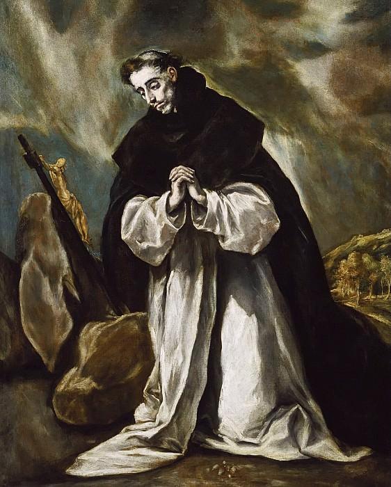 St. Dominic in Prayer. El Greco