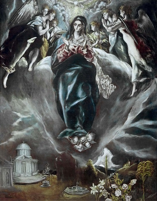 The Immaculate Conception. El Greco
