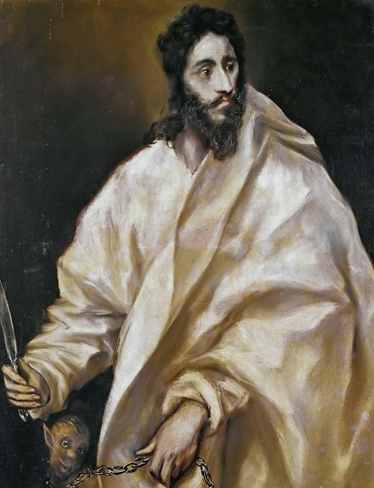 Saint Bartholomew. El Greco
