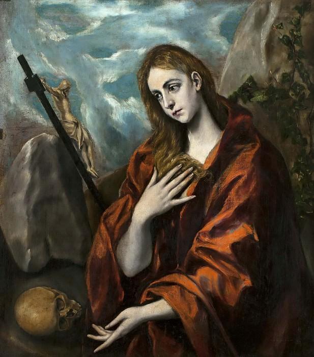 Penitent Magdalena. El Greco
