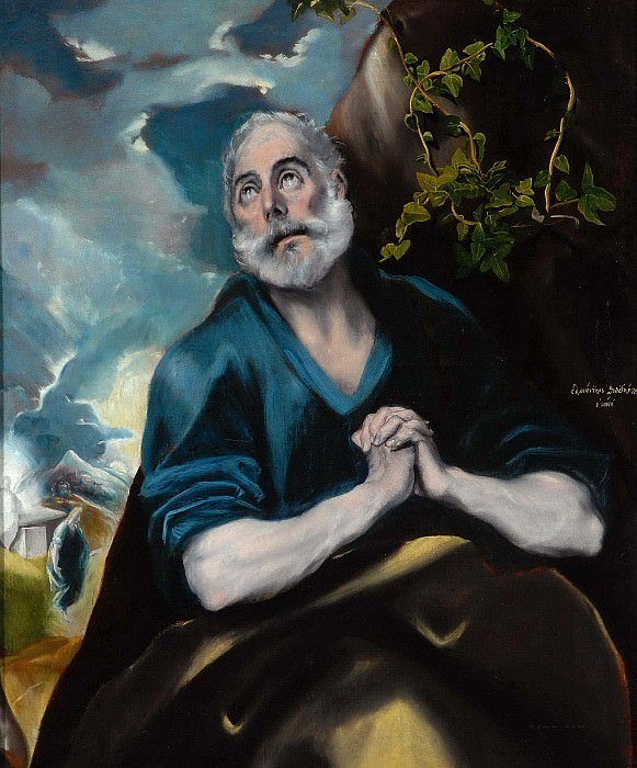 The Tears of St. Peter. El Greco