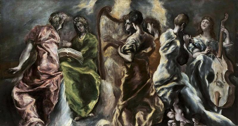 The Concert of the Angels. El Greco