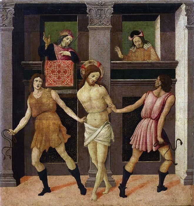Бичевание Христа. Бартоломео ди Джованни