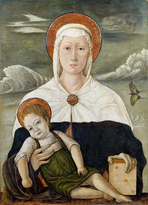 Madonna and Child. Francesco di Gentile