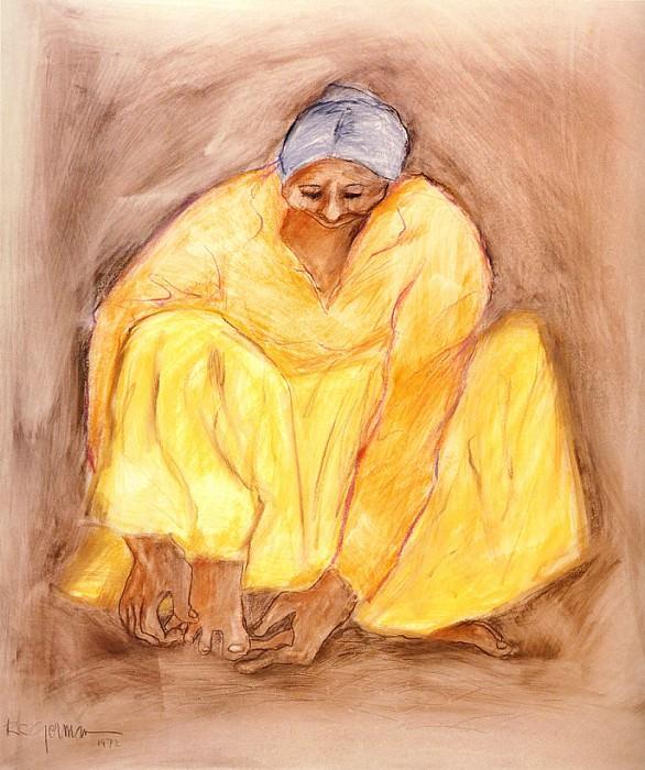 Yellow Woman. Rudolph Carl Gorman