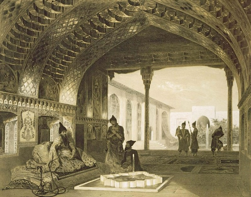 The Hall of Mirrors in the Palace of the Sardar of Yerevan, Armenia. Grigori Grigorevich Gagarin