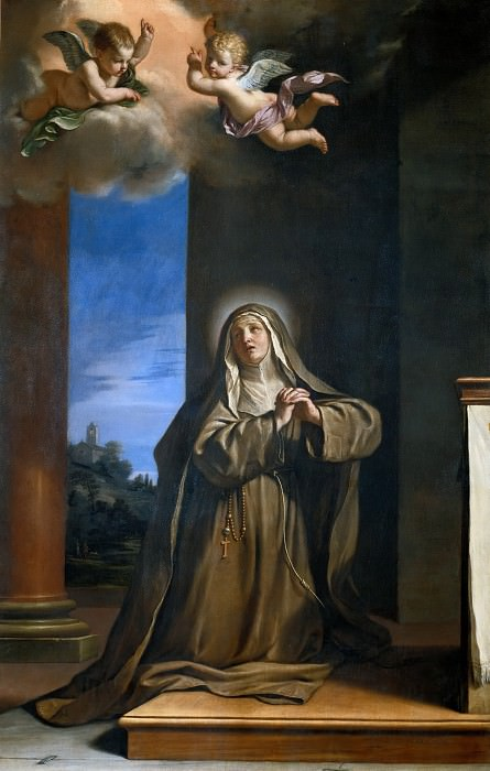 Saint Margaret of Cortona. Guercino (Giovanni Francesco Barbieri)