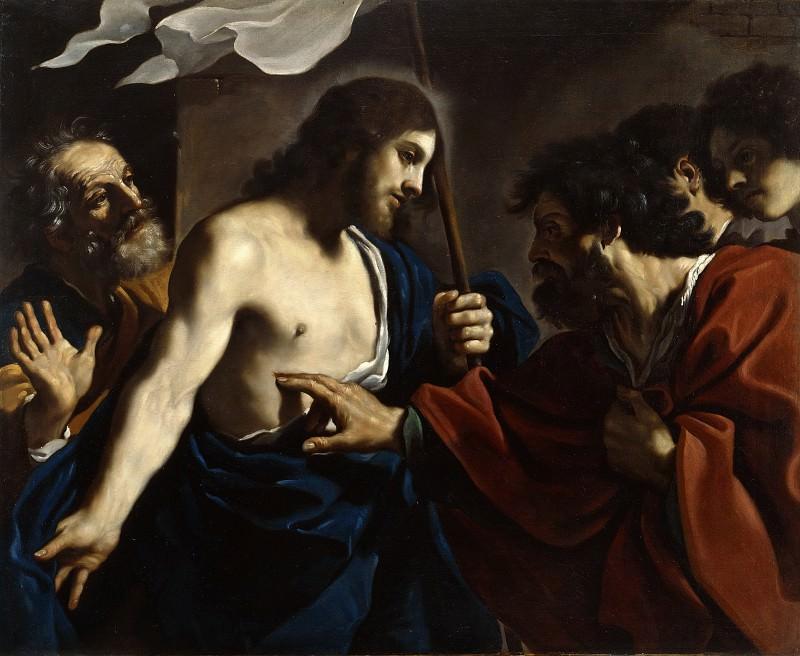 Неверие святого Фомы. Гверчино (Джованни Франческо Барбьери)