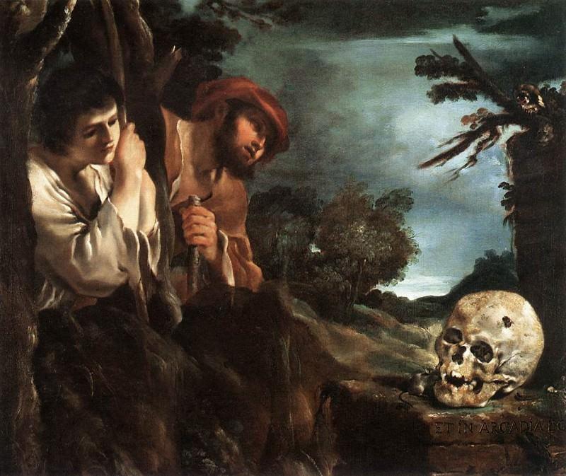 Et in Arcadia Ego. Guercino (Giovanni Francesco Barbieri)