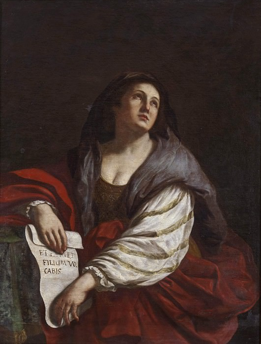 The Cimmerian Sibyl. Guercino (Giovanni Francesco Barbieri) (After)
