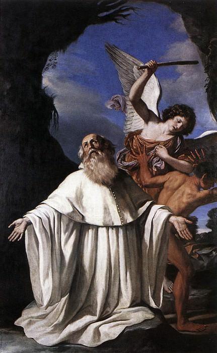St Romuald. Guercino (Giovanni Francesco Barbieri)