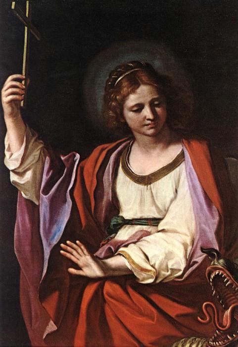 St Marguerite. Guercino (Giovanni Francesco Barbieri)