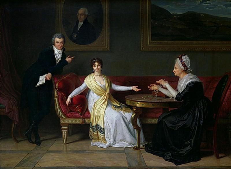 The Salucci family. Louis Gauffier