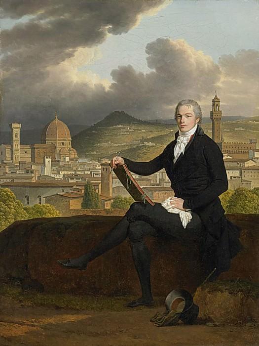 Portrait of Dr. Thomas Penrose. Louis Gauffier