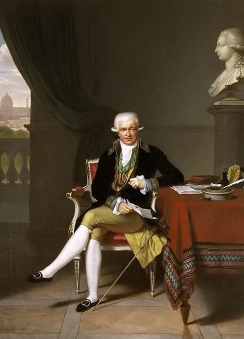 A Portrait of Johan Claes Lagersvärd (1756-1863). Louis Gauffier