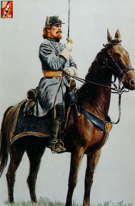 Генерал Пикетт. Геттисберг