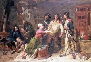 Арест крестьянина-роялиста, 1855. Фредерик Гудолл