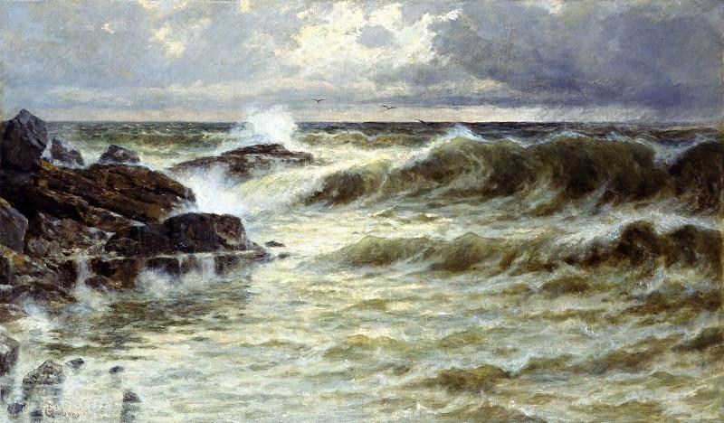 Марина в шторм. Джулиано Бартоломео
