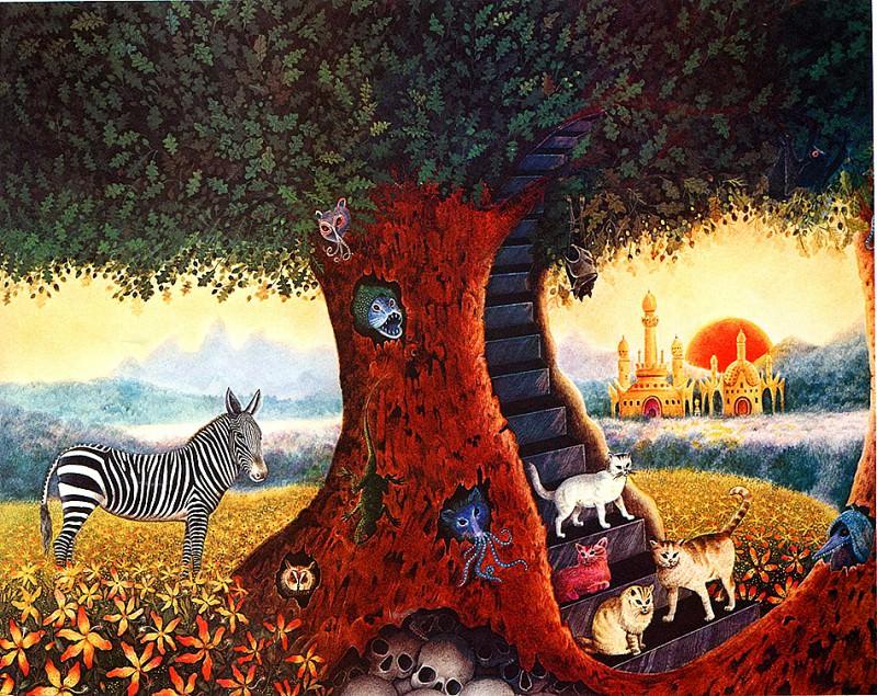 Dream Quest of Unknown Kadath. Gervasio Gallardo