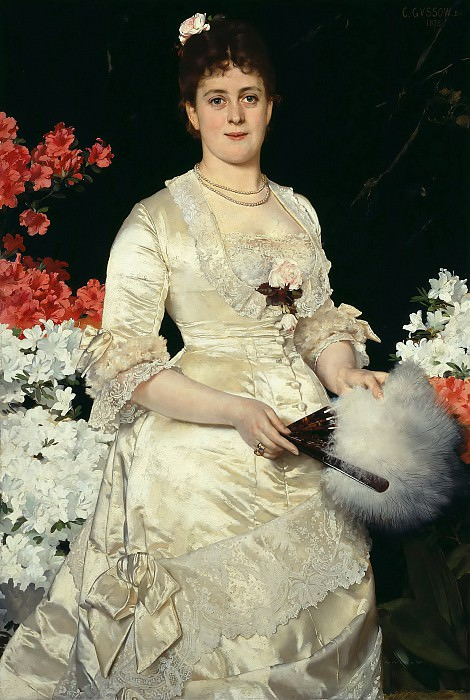 Frau Hedwig Woworsky. Karl Gussow