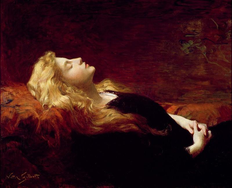 Resting. Victor Gabriel Gilbert