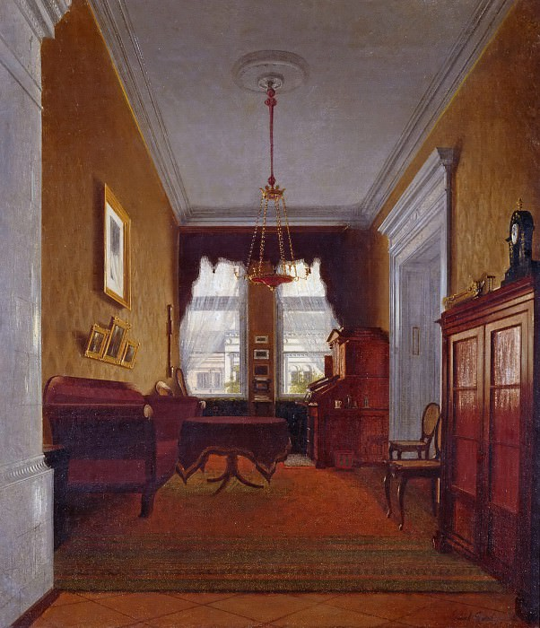 Berlin Interior. Paul Graeb