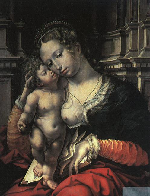 Мадонна и Младенец, 1527. Мабюз Ян Госсарт
