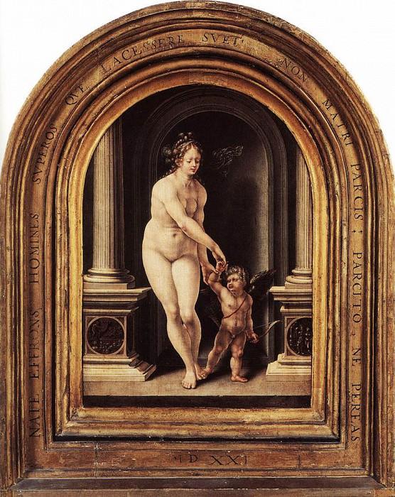 Венера и Купидон. Мабюз Ян Госсарт