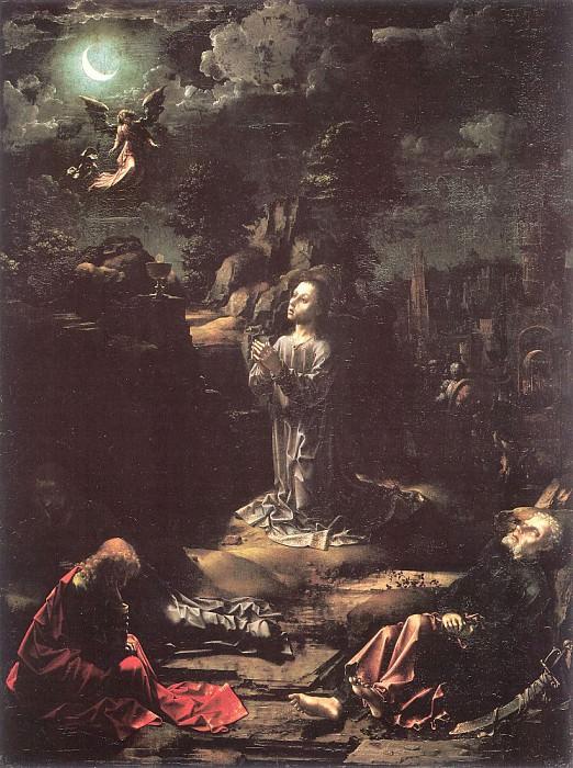 Мучения в Гефсиманском саду, 1510. Мабюз Ян Госсарт