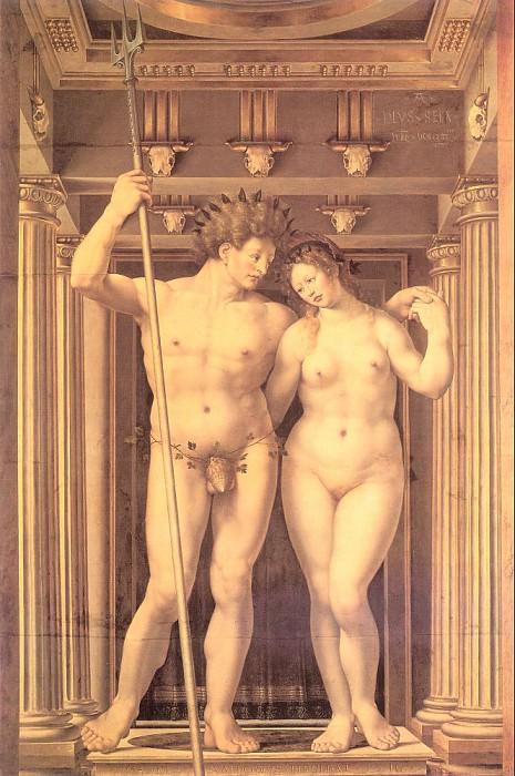 Нептун и Амфитрита, 1516. Мабюз Ян Госсарт