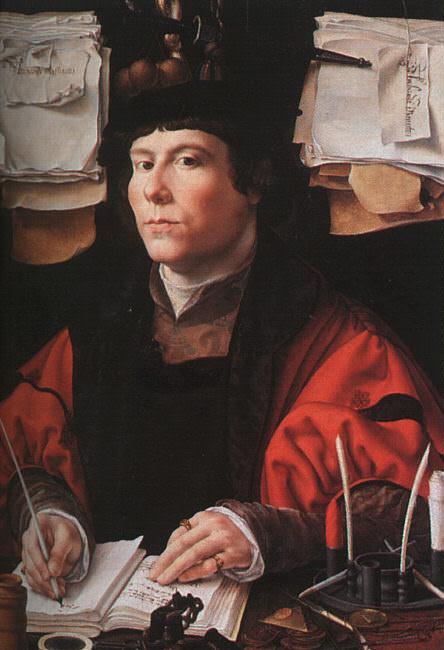 Портрет купца, 1530. Мабюз Ян Госсарт