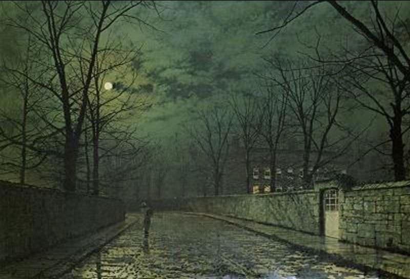 Лунный свет после дождя. Джон Эткинсон Гримшоу