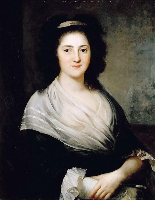Portrait of Henriette Herz. Anton Graff