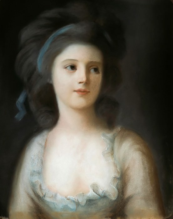 Countess Sophie de Witt. Anton Graff