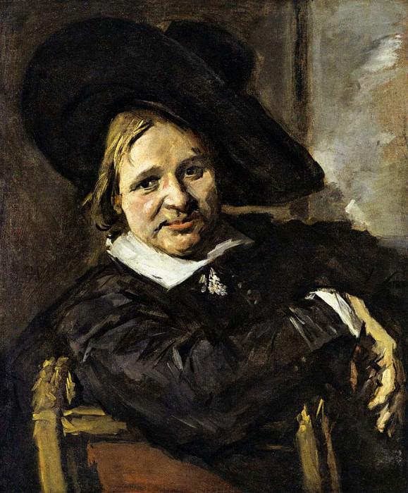Портрет мужчины в широкополой шляпе, 1660-66. Франс Халс
