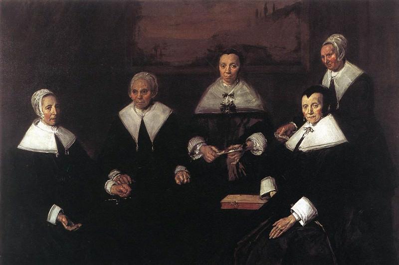 Регентши госпиталя св. Елизаветы в Харлеме. Frans Hals