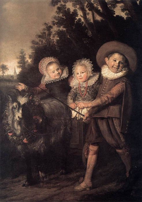 Group of Children. Frans Hals