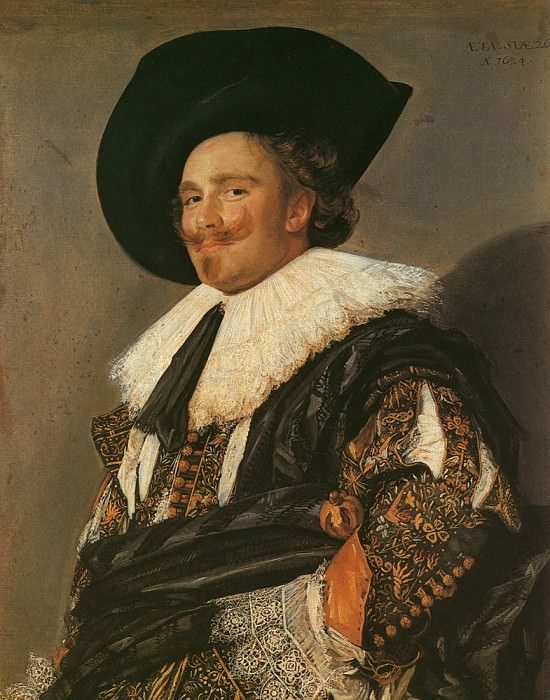 The Laughing Cavalier 1624. Frans Hals