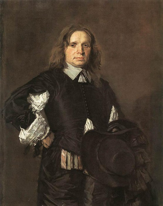 Portrait Of A Man 1650. Frans Hals