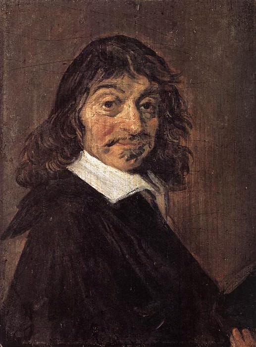 Rene Descartes. Frans Hals