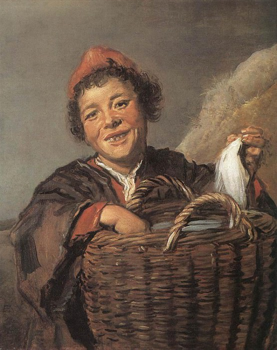 Fisher Boy. Frans Hals