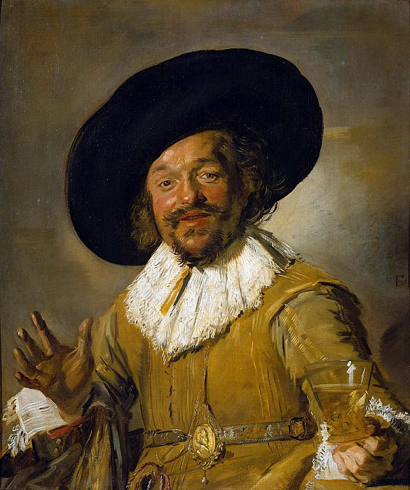 The merry drinker. Frans Hals