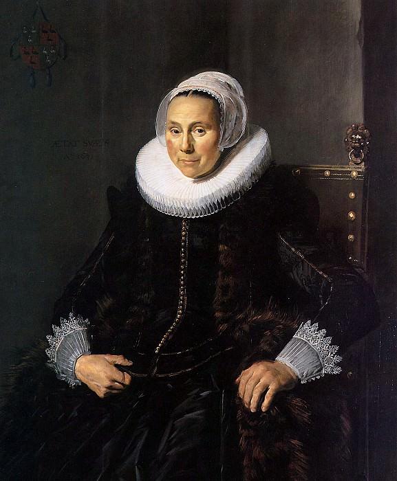 Hals Frans Cornelia Claesdr Vooght Sun. Frans Hals