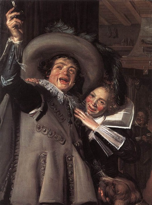 Jonker Ramp and his Sweetheart. Frans Hals