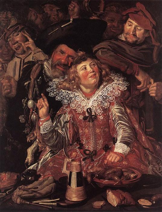 Shrovetide Revellers. Frans Hals