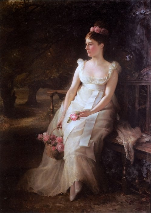 Hughes E The Debutante. Edward Robert Hughes