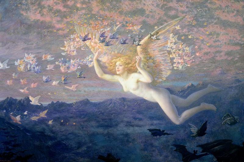 На крыльях утра, 1905. Эдвард Роберт Хьюз